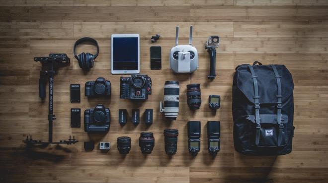 camera kit for company video