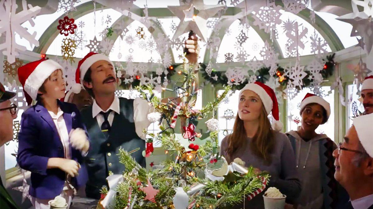 Wes Anderson Holiday Ad H&M