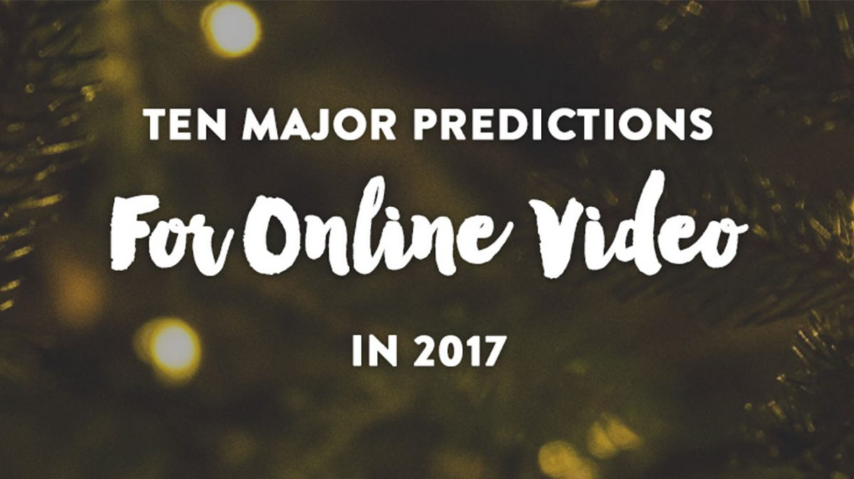 Predictions for Online Video
