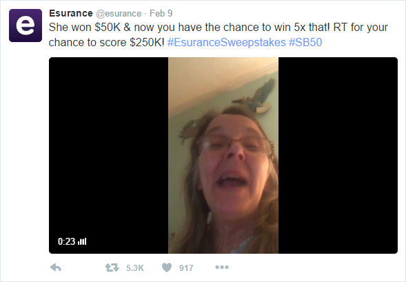 Esurance Video Campaign from 2016
