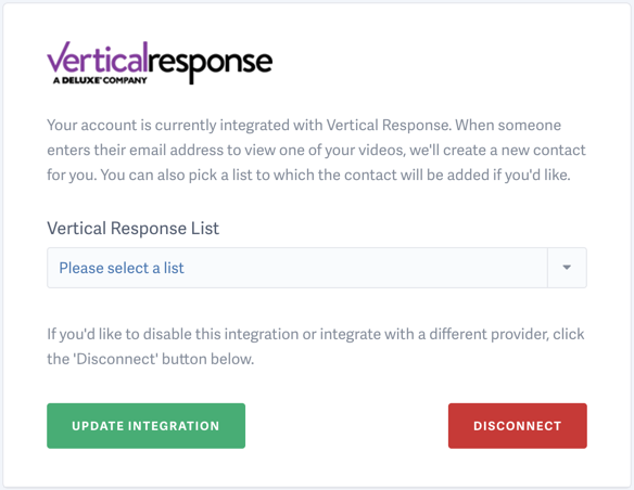 Introducing the Vertical Response Integration with SproutVideo