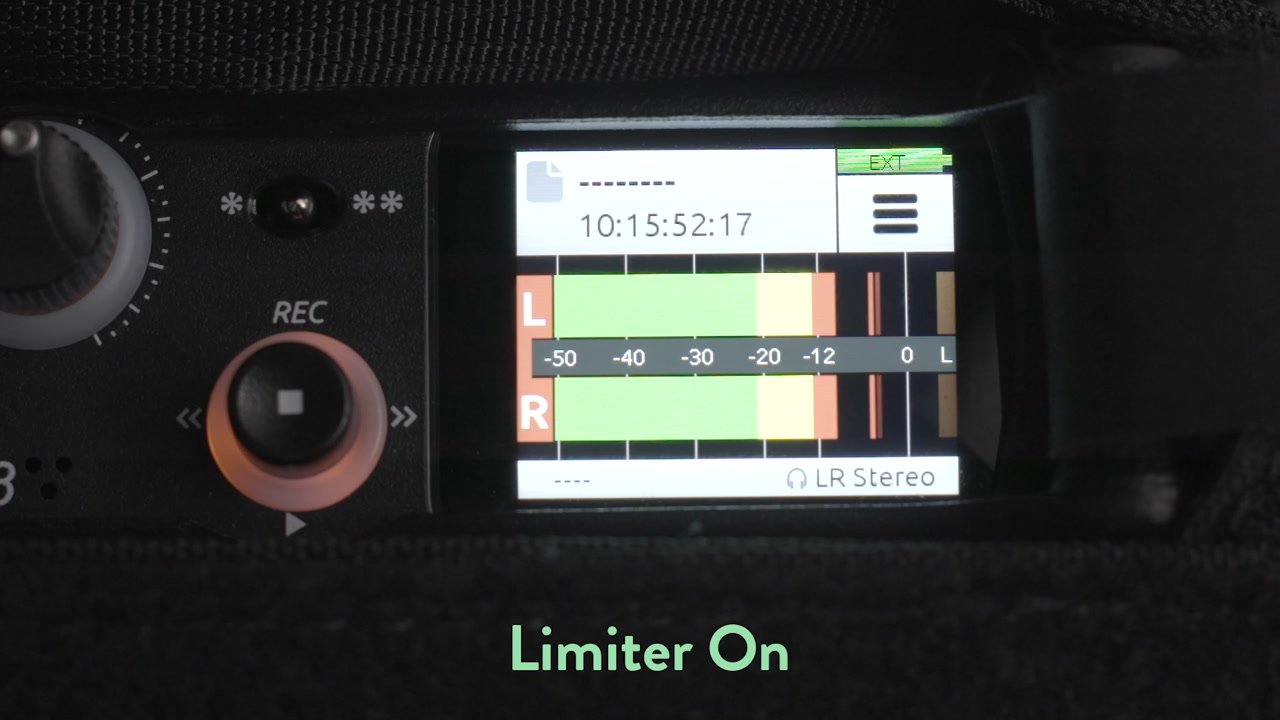 Limiter for Video Audio