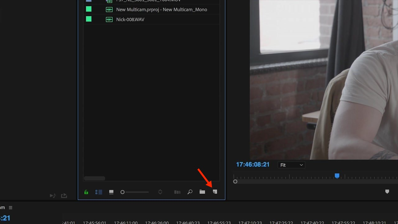 Create a New Regular Sequence in Adobe Premiere