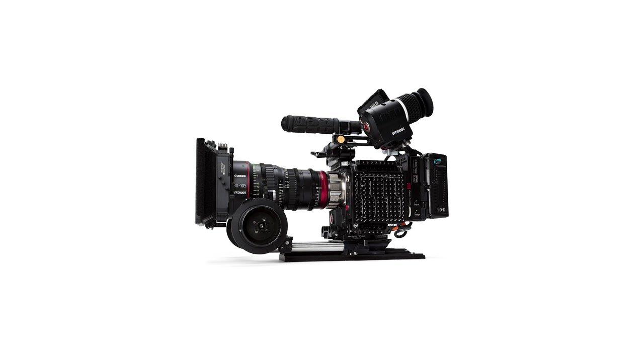example of a cinema rig video camera