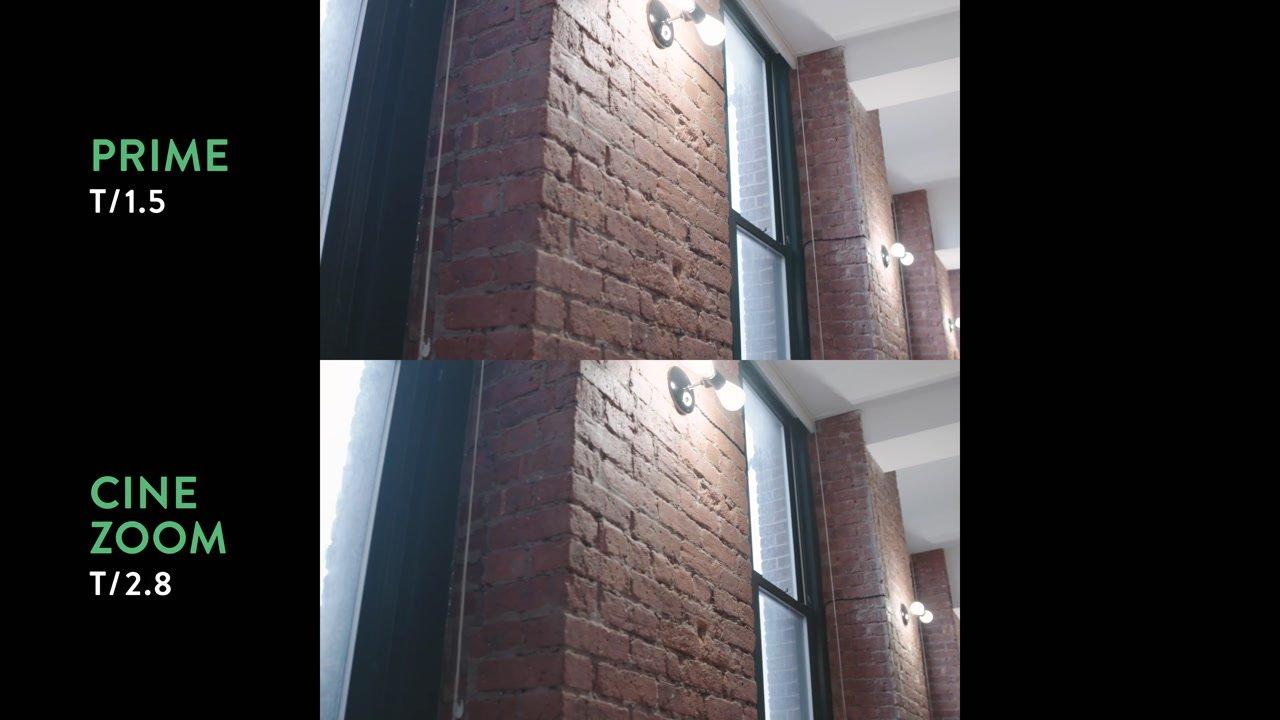 vertical distortion zoom lens