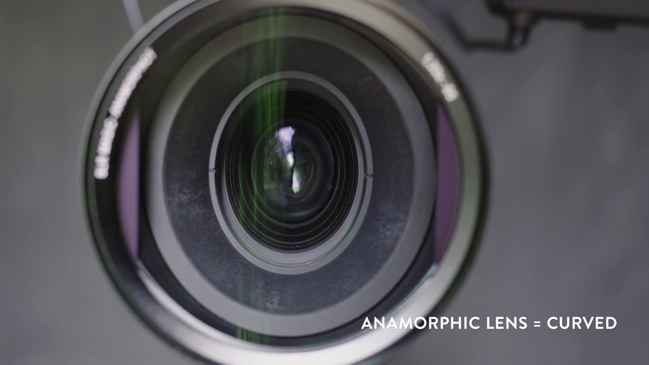Anamorphic Lens = Curved