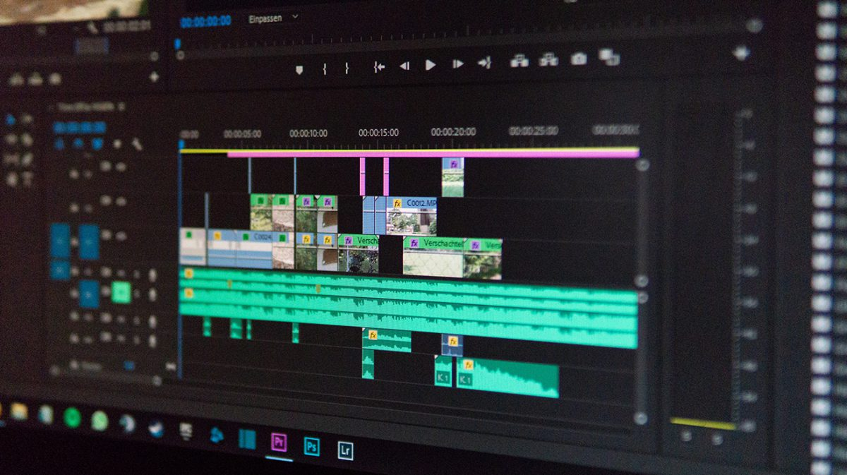 Video Timeline with Music Track