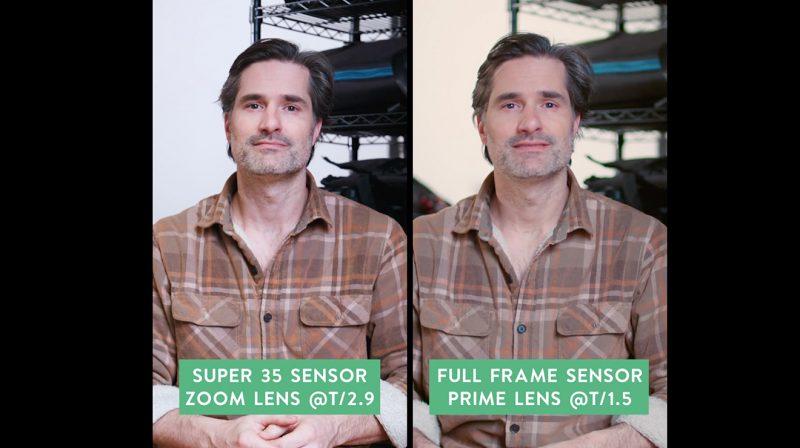 Sensor Size Side by side