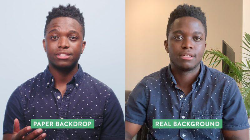 Background comparison