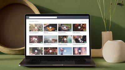 Stock Video Site