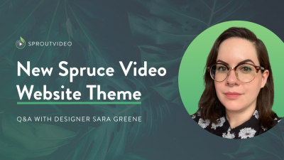 Spruce Video Website Theme