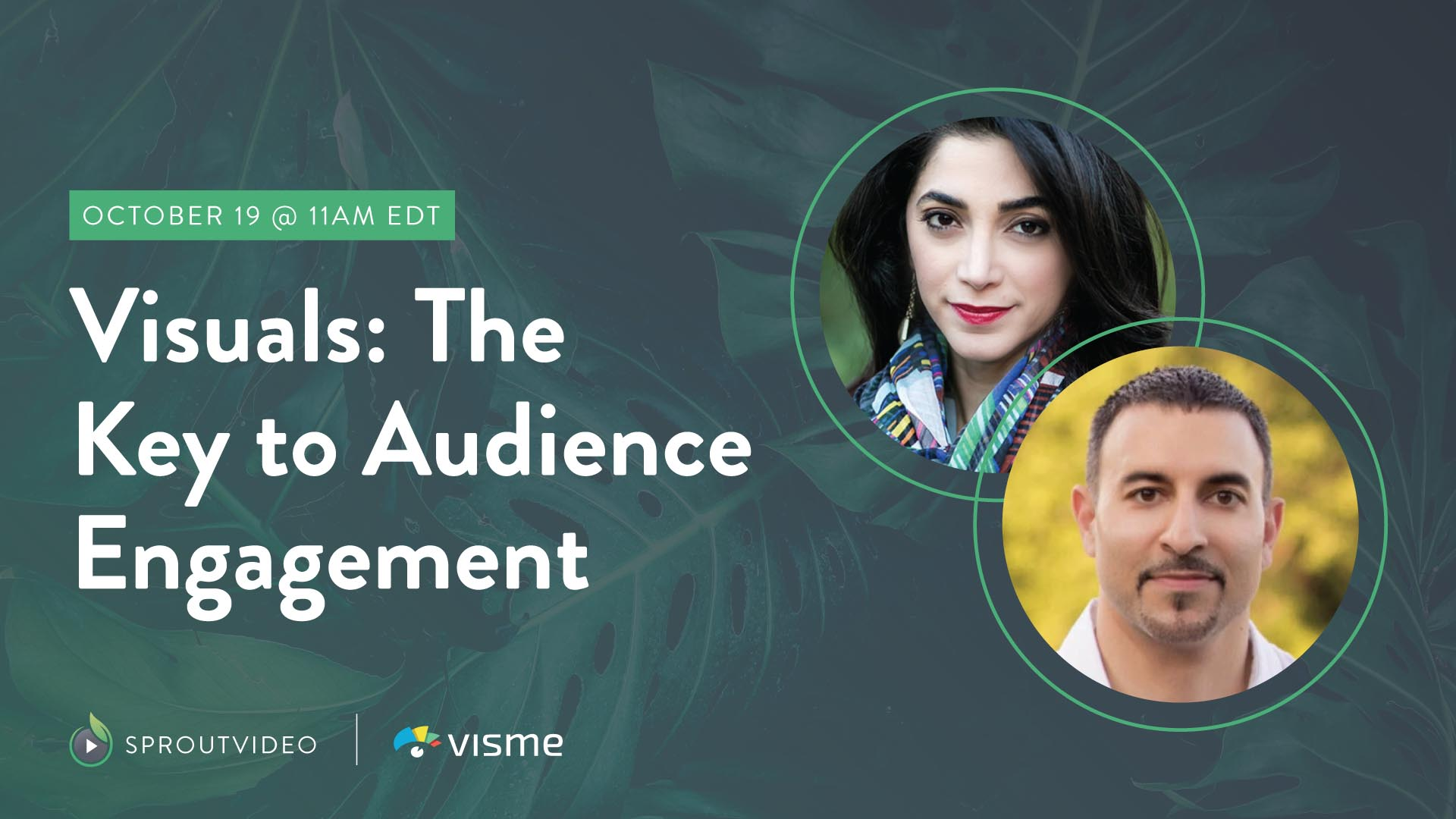 """Poster frame for """"Visuals: The Key to Audience Engagement – A Live Discussion"""""""
